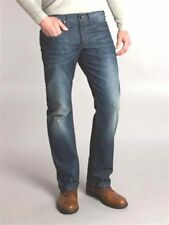 """Mens Size 36""""W 34""""L JC Rags Proxi Wash Blue Denim Jeans House of Fraser RRP £100"""