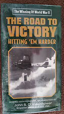 NIP VHS Tape The Winning of World War II The Road To Victory Hitting 'em Harder