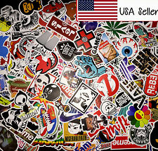 600 Random Skateboard Stickers Vinyl Laptop Luggage Decals Dope Sticker Lot Mix