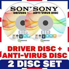 ✅ SONY DRIVERS + VIRUS REMOVAL - ANTIVIRUS/MALWARE/SPYWARE REPAIR VISTA  7 8 10