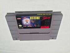 Out of This World (Super Nintendo SNES) Game Cartridge Excellent!
