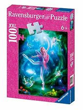 NEW Ravensburger Ballet Lesson - 100 XXL Piece Puzzle Shimmering Glitter