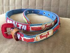Used tough belt with beads