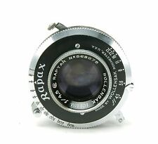 Vintage Wollensak 4,5/101mm Raptar Lens For 6x9cm Cameras. Clean & Accurate.