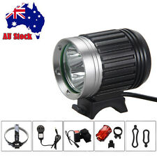 7500Lm 3X CREE XML U2 LED Front Bicycle Lamp Torch Headlamp Bike Light 4x18650