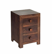 BEDROOM FURNITURE -3DR BEDSIDE CABINET.WOODEN BEDSIDE CABINET/MODERN FURNITURE