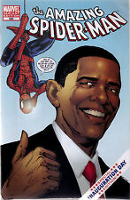 MARVEL COMICS THE AMAZING SPIDER MAN #583 OBAMA INAUGURATION VARIANT EDITION