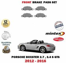 FOR PORSCHE BOXSTER 2.7 3.4 S GTS 2012-  FRONT BRAKE DISC PAD SET