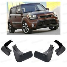 Front + Rear Car Mud Flaps Fender Mudguard for KIA Soul 2009-2013 09 10 11 12 13