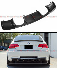 V STYLE FULL SIZE CARBON FIBER REAR BUMPER DIFFUSER FOR BMW E92 E93 M3 2 DR COUP