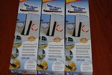 Lot Of 3pc Twin Door Draft Dodger Guard  Stopper Energy Saving Doorstop