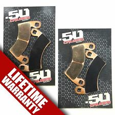4 Piece RZR Brake Pads Lifetime Warranty Replacing Part #2203747 SXS OEM UTV