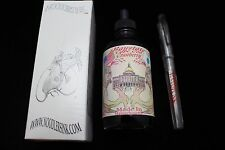 NOODLERS INK 4.5 OZ BOTTLE BAYSTATE CRANBERRY WITH FREE FOUNTAIN PEN