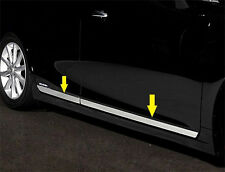 304 Steel Body door Side Molding Chrome trims For lexus CT200H 2011-2015