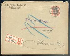 DR 1900 59 R-BRIEF POSTAUFTRAG BERLIN 100€(B0343