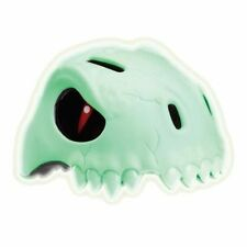 CRAZY STUFF Kids Helmet Glow Skull (Glow in the Dark) SM Small 49-55cm