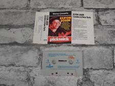 ELTON JOHN - London & New York / Cassette Album Tape / Pickwick UK Issue / 3831