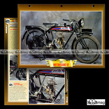 #108.06 Fiche Moto MOTOBECANE 100 MODEL B1 1925-1939 Motorcycle Card