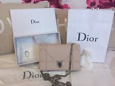 Dior, Diorama Wallet on Chain Pouch in Powder Pink
