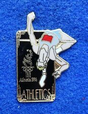 NEW ~ USA Olympic Track & Field High Jump Pole Vault Resin Cloisonne Lapel Pin