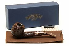 Savinelli Marron Glace 636 KS Rustic Brown Tobacco Pipe