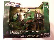 G.I.JOE VALOR vs VENOM: MISSILE STORM COPTER with WILD BILL