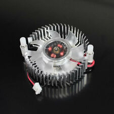 Silver 55mm Fan For Nvidia Geforce & ATI VGA Video Card Cooling