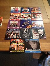 17 ASSORTED PROMOTIONAL NEWSPAPER DVD'S OF TV PROGRAMMES