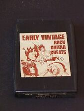 EARLY VINTAGE ROCK GREATS Vintage Classic Rock 8 Track Tape BECK CLAPTON PAGE