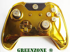 Gold Xbox One Replacement Controller Shell Mod Kit With Full Bullet Buttons
