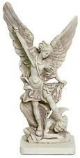Archangel Michael Slaying the Devil Statue Christian Angel Figurine A-034S