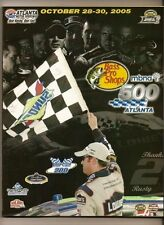 2005 Bass Pro Shops 500 Nascar Program Carl Edwards win