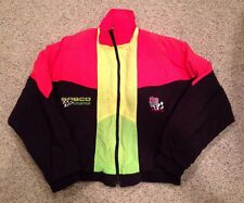 Vintage KYLE PETTY Mellow Yellow Sabco NASCAR Racing JACKET #42 Size Medium Neon
