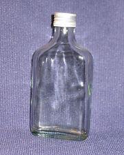 10 Flaschen Glasflaschen Flachmänner 200 ml leer mit Schraubverschluss NEU