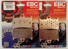 Yamaha YZF R6 (1999 to 2004) EBC FRONT Sintered Brake Pads (FA252HH) (2 Sets)