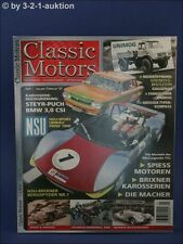 Classic Motors 1/07 NSU Prinz BMW 3.0 CSI Citroen IS/DS