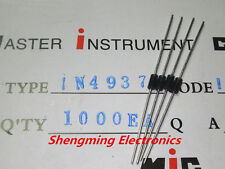 100pcs 1N4937 IN4937 1A 600V Fast Recovery Diode