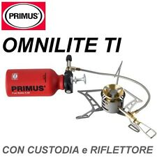 PRIMUS OMNILITE TI Fornello a Combustibile Liquido Benzina Gas multi fuel stove