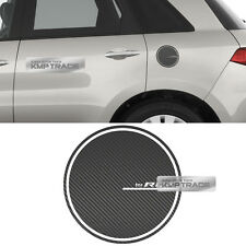 Fuel Oil Tank Door Cap Carbon Decal Sticker Cover Molding for ACURA 2007-12 RDX