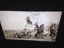 """Bobo African Tribal Art """"Do Masks"""" 35mm Vintage Glass Slide"""