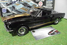 FORD MUSTANG SHELBY GT 350H noir bandes or o 1/18 EXACT DETAIL voiture miniature