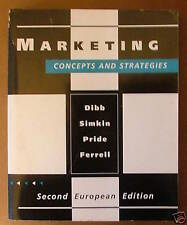 Marketing: Concepts and Strategies by O.C. Ferrell - Large Paperbck Book