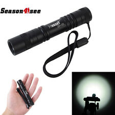 HUGSBY XP-11 CREE R5 LED 200 Lumens 1.5V AA Pocket Lightweight Flashlight Black