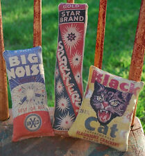 Patriotic 4th of July firecracker cupboard tucks bowl fillers pillows fireworks