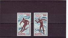 CENTRAL AFRICAN REP - SG159-160 MNH 1968 OLYMPIC GAMES MEXICO