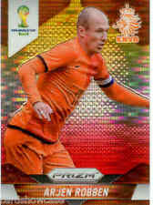 2014 World Cup Prizm Yellow Red Parallel No.29 A.ROBBEN (NETHERLANDS)