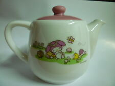 VINTAGE TEA POT CERAMIC MY MELODY SANRIO ~ VERY RAREST