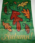 "FLIP IT! Decorative Porch Flag 28"" x 40 AUTUMN ! Colorful Fall Leaves"