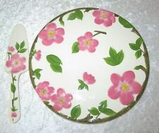 Franciscan Desert Rose Cake Plate & Server