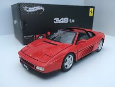 Elite Hot Wheels 1/18 Ferrari 348 Ts Spider 1989 Red Art. X5480